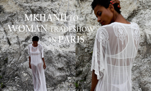 Visuel du projet MKHANH to WOMAN Tradeshow in PARIS