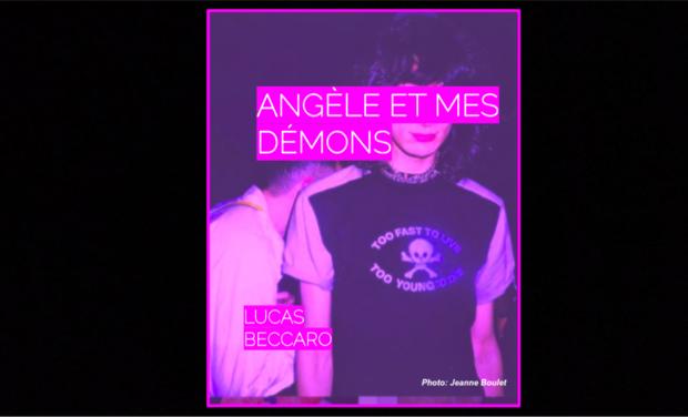 Visueel van project First Feature Film: Angèle Et Mes Démons