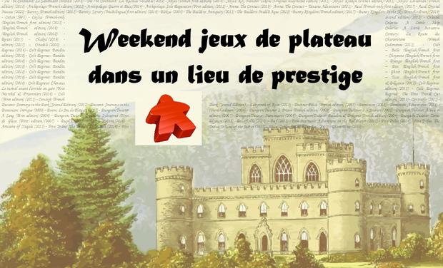 Project visual Weekend jeux de plateau dans un lieu de prestige sur Montpellier ou alentours