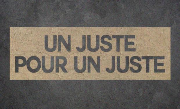 Visueel van project Un juste pour un juste