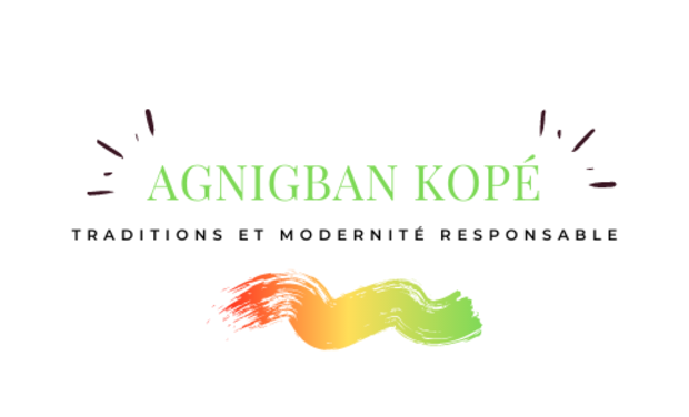 Project visual Agnigban Kopé... Traditions et modernité responsable.