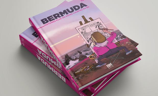 Project visual BERMUDA 12 collectif BD de grande qualité