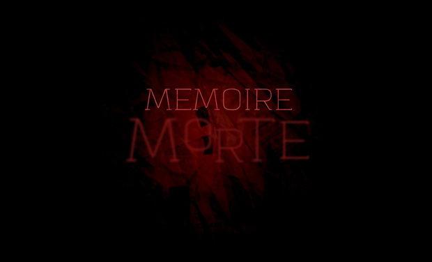 Visueel van project Mémoire Morte
