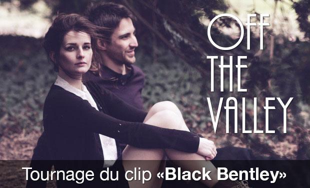 """Project visual Projet de clip vidéo """"Black Bentley"""" du groupe OFF THE VALLEY"""