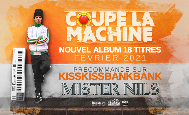 Visueel van project Nouvel album Mister Nils