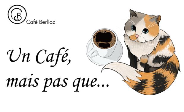 Project visual Café Berlioz - salon de thé pâtisserie bar à chats