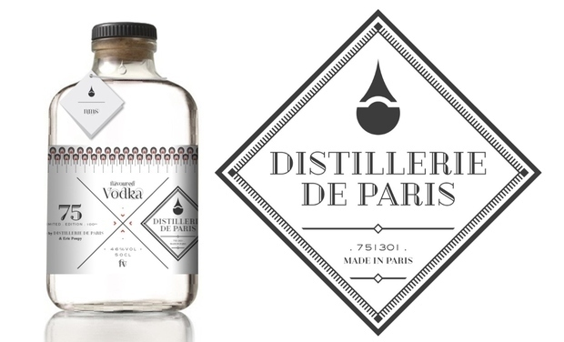 Project visual Distillerie de Paris