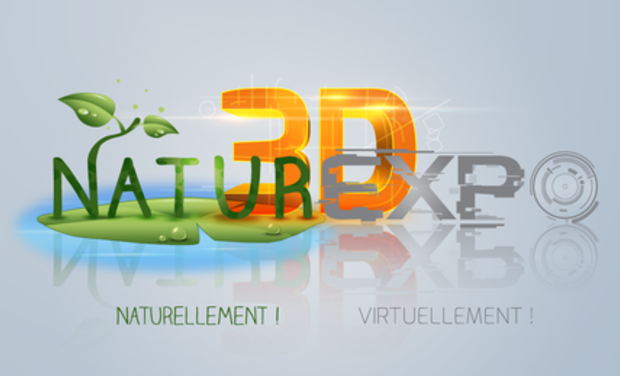 Project visual NATUREXPO 3D Le 1er Salon Virtuel 3D des Animaux de Cie et de la Nature
