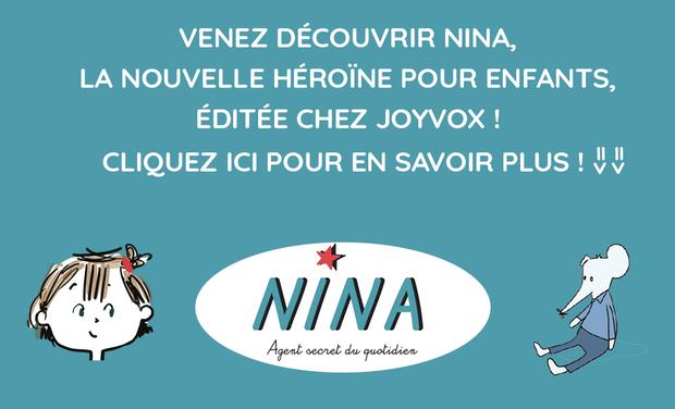 Project visual Nina, agent secret du quotidien