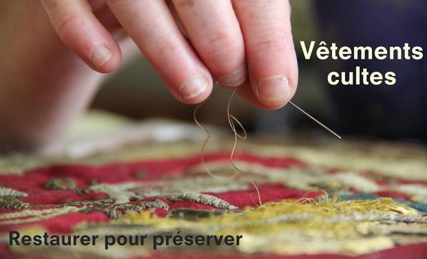 Visueel van project Vêtements cultes - Restaurer pour préserver