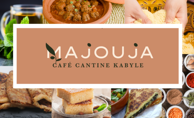 Visuel du projet MAJOUJA - Cantine-épicerie d'inspiration kabyle