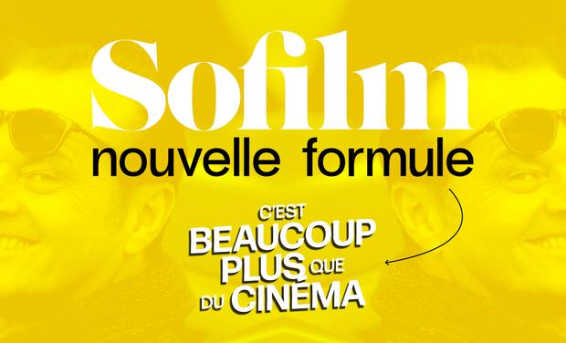 Visueel van project SOFILM : nouvelle formule !