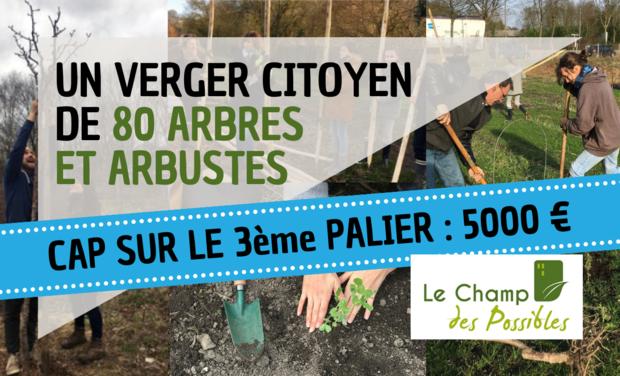 Visueel van project Ensemble, plantons des arbres fruitiers pour la ferme des Bruyères !
