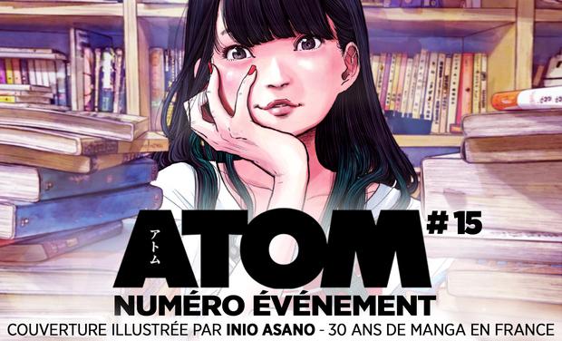 Project visual ATOM #15 – 30 ans de manga en France Les100 meilleurs titres de la BD japonaise