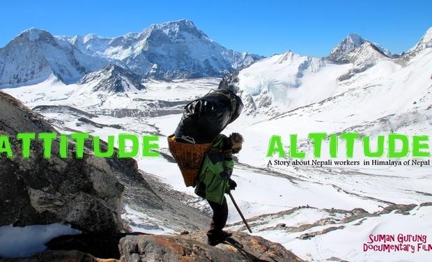 """Visuel du projet """"Attitudes in Altitude"""", les coulisses d'une expé."""