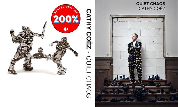 Visuel du projet QUIET CHAOS une première monographie français/anglais 320 pages