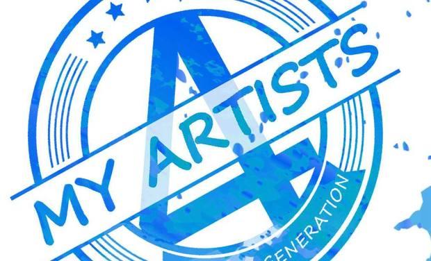 Project visual Création studio de associatif 4MyArtists