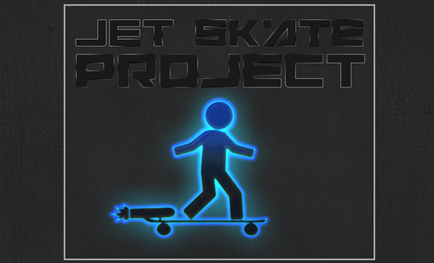 Project visual Jet Skateboard
