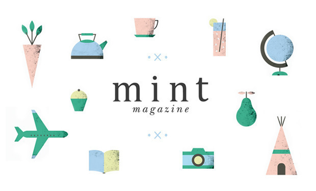 Project visual Mint magazine // Eat & Explore