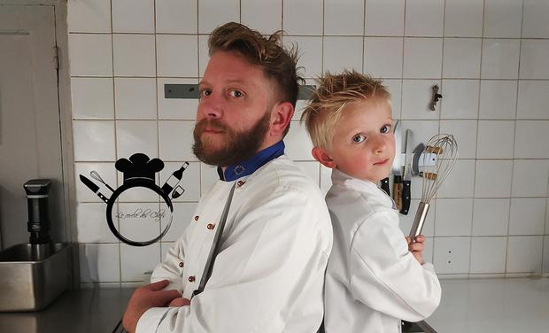 Project visual Création d'un atelier de cuisine