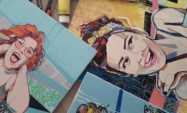 Project visual Audrey Schintu Art