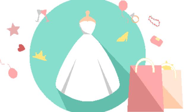 Visuel du projet Wedagan, 1ère plateforme pour vendre et acheter une robe de mariée d'occasion