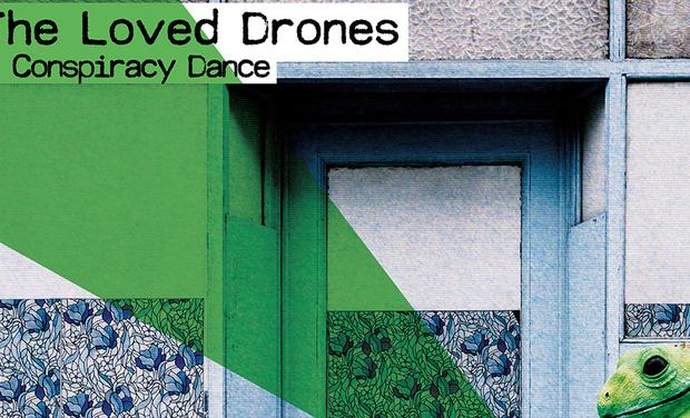 Visueel van project Conspiracy Dance, le nouvel album des Loved Drones en vinyle