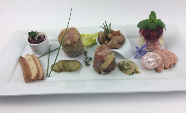 Visuel du projet Panier repas menu dégustation Champenois pour 1, 2 ou 4 personnes.