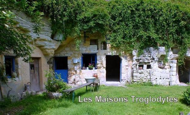 """Visuel du projet Eco-musée """"Les Maisons Troglodytes"""""""