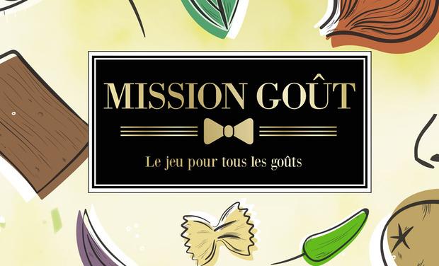 Project visual Réveillez votre goût avec  le jeu Mission Goût !