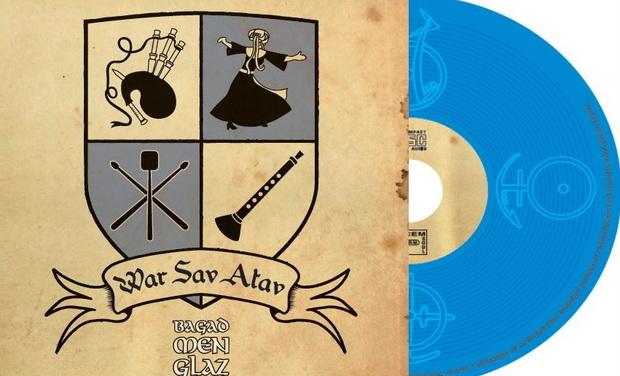 Project visual Bagad Men Glaz - Création nouveau disque : War sav atav