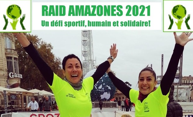 Project visual Raid Amazones sportif et solidaire