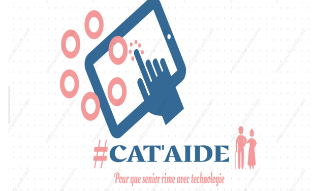 Project visual Cataide :  Pour que sénior rime avec technologie