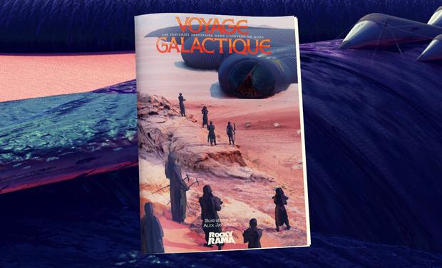 Project visual Dune, Voyage Galactique - Le livre Rockyrama
