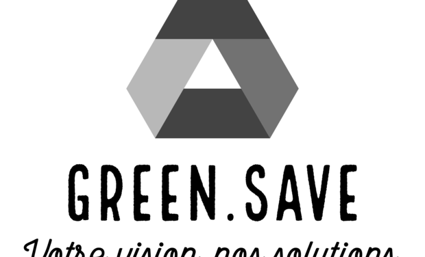 Visueel van project Green Save Technology .informatique écologique