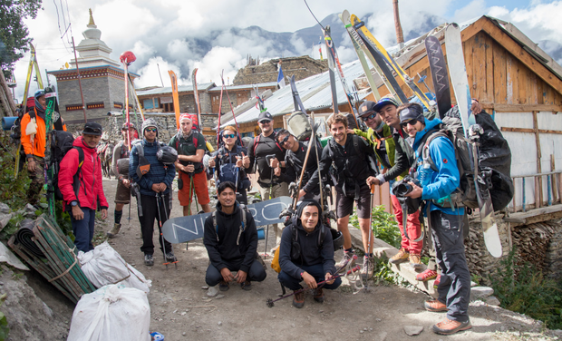 Project visual Ski & Snowboard Foundation Nepal: Building together a bright future