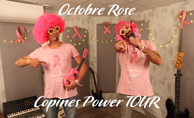 Visuel du projet Copines Power TOUR Octobre Rose