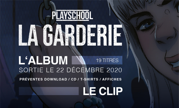 Visueel van project Playschool l'album : LA GARDERIE