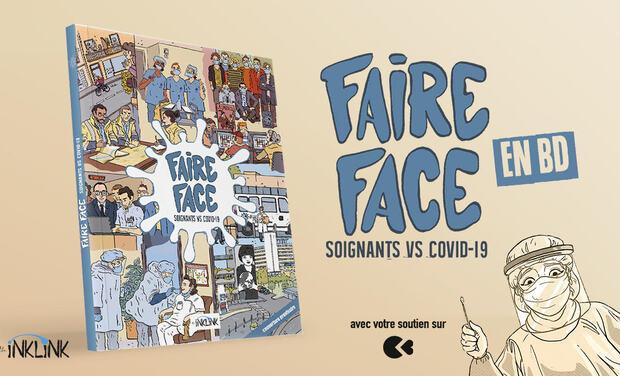 Project visual Faire face, la BD
