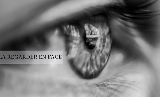 Visueel van project La regarder en face