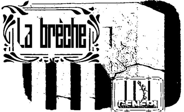 Visuel du projet La Brèche #3 Pré-commande