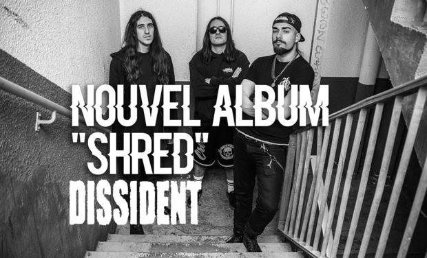 Project visual SHRED - Nouvel album de DISSIDENT