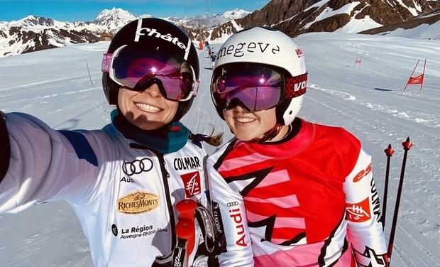 Visuel du projet Pour briller en SkiCross, aidez Jade & Mylène !