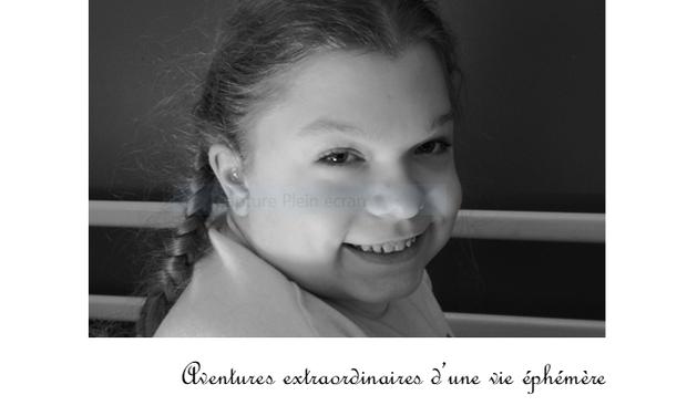 Project visual Création d'un livre sur la vie de Pauline décédée d'une maladie génétique