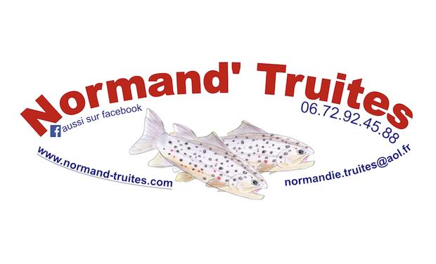 Project visual Pisciculture Normand' Truites : produits locaux, de qualité, en circuit court