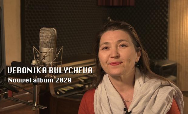 Project visual Enregistrement nouvel album de Veronika BULYCHEVA
