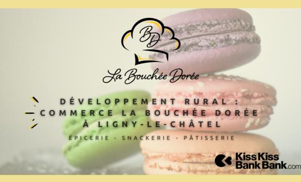 Visueel van project Développement rural : Commerce La Bouchée Dorée à Ligny-le-châtel