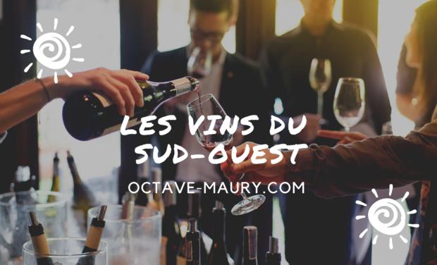 Project visual Octave Maury, tous les vins du Sud-Ouest!