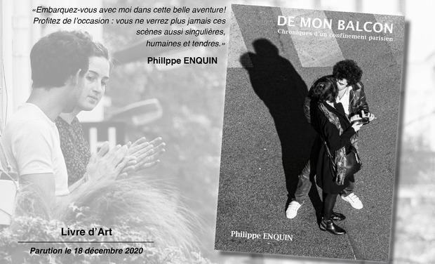 Visueel van project De mon balcon. Chroniques d'un confinement parisien