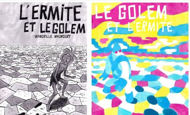Project visual Le Golem et L'Ermite